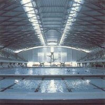 A view of the pools at Ponds Forge